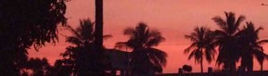 Sonnenuntergang Maisur/Mysore